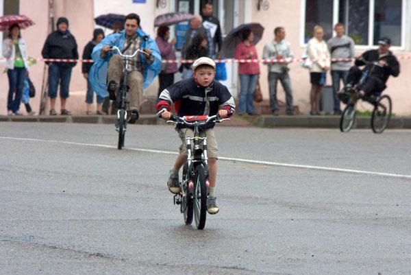 Юные велосипедисты из Углича
