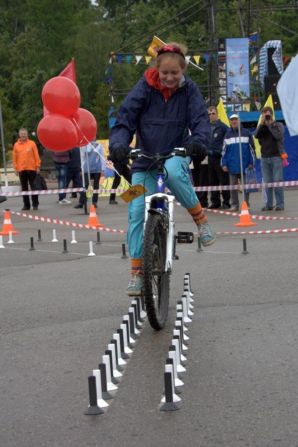 Соревнования по фигурной езде от Велопитера