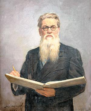 А.М. Любимов. Портрет П.Д. Бучкина. 1951 г.